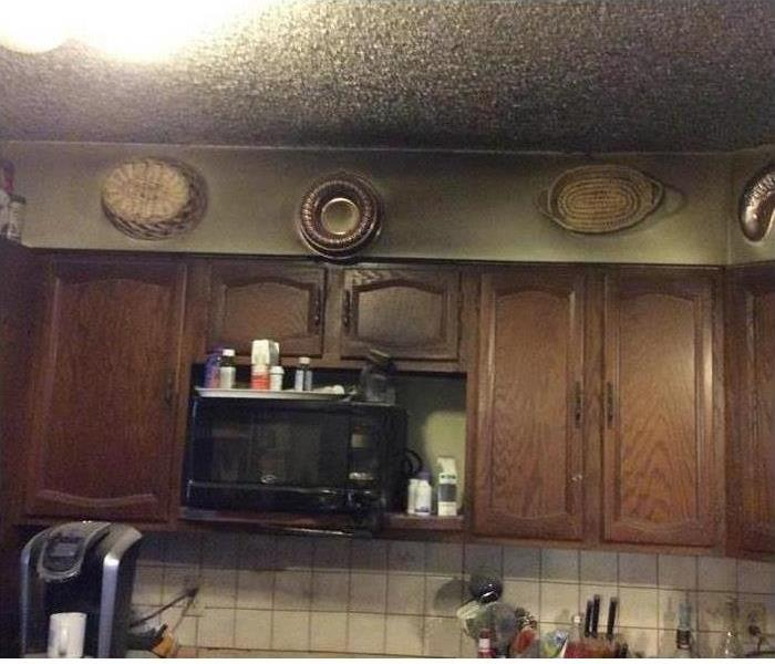 Fire Damage – Phoenix Kitchen Before