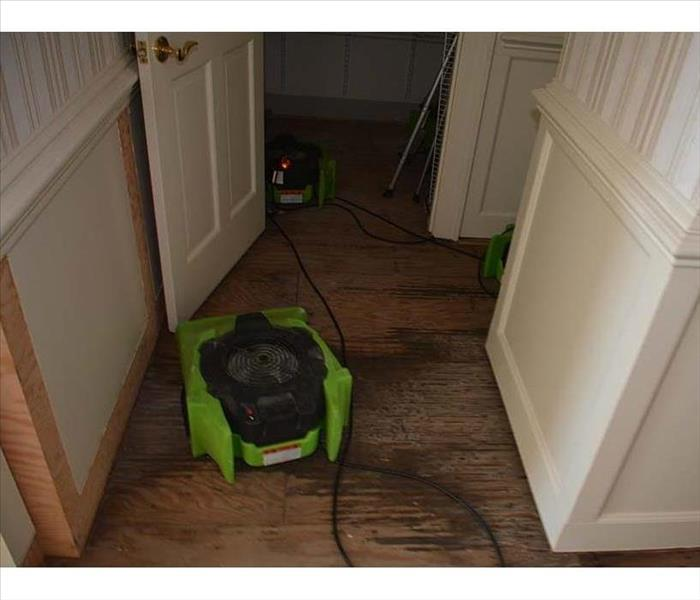 Hardwood Flooring in a Phoenix Home and a Water Leak Before