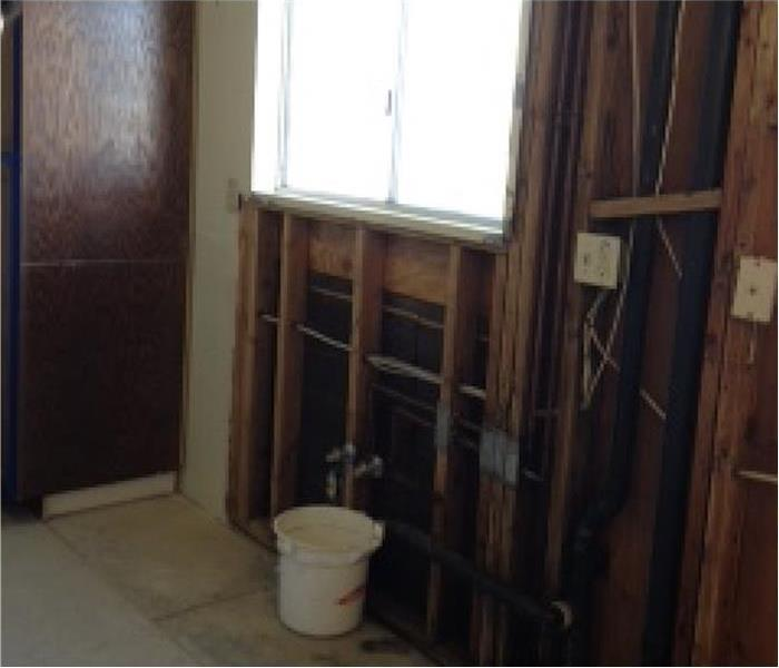 Central Phoenix Mold Damage in a Kitchen After
