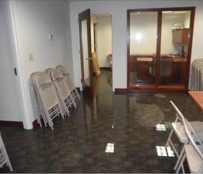 Commercial Water Damage – Phoenix Office