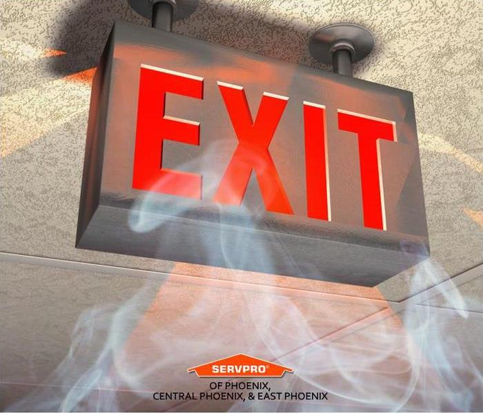Commercial Property  Fire Exit Sign